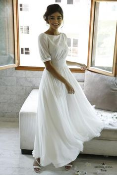 Modest Whispers-Modest wedding gowns - Studio Levana - Couture Wedding Gowns - - Modest wedding gowns 2016 tina Source by annkol Wedding Gowns 2016, Floral Wedding Gown, Modest Wedding Gowns, Couture Wedding Gowns, Modest Dresses, Designer Wedding Dresses, Pretty Dresses, Bridal Gowns, Beautiful Dresses