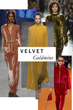 Less utilitarian, but infinitely more opulent? The season's generous swathes of lustrous velvet. Strike a pose in floor-skimming saffron from Valentino or Alberta Ferretti's languid, blush-hued pajama set; voilà—you're a lady of leisure.