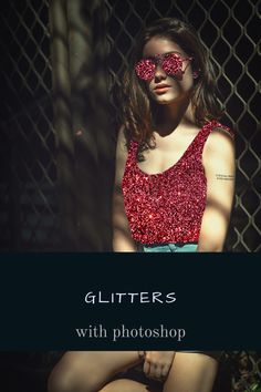 Adobe Photoshop tutorial on how to add glitter effect to your images. Photoshop Youtube, Photoshop Me, Photoshop Tutorial, Photoshop Ideas, Your Image, Your Photos, Glitter, Ads, Inspiration