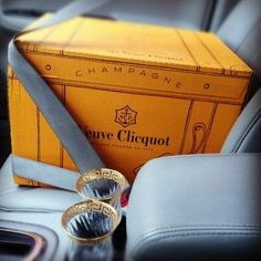 Why don't you....transport your champagne in style?