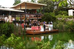 The Rosewood Mayakoba and the decks beside the canals for wedding ceremonies make for epic photographs and is why the hotel is one of our Top Mexican Caribbean Luxury Resorts for Destination Weddings