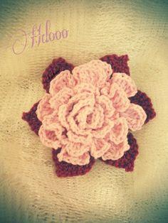 Crochet flower#crochet Flower Crochet, Crochet Necklace, Jewelry, Jewlery, Jewerly, Schmuck, Jewels, Jewelery, Fine Jewelry
