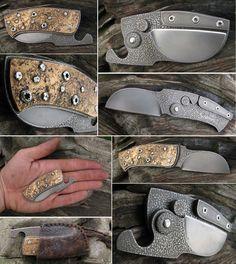 Friction folder, elmax blade, elmax, knife handle of a bronze and elmax