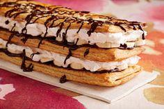 Chocolate-Banana Napoleon Recipe - Kraft Recipes