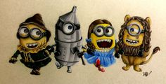 I think I'm done with minions for a while.lol Minions Of Oz Minion Rock, Cute Minions, Minions 2014, Minion Stuff, Minions Minions, Funny Minion, Amor Minions, Minions Quotes, Minion Photos