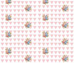 Aztec rose -petal fabric by drapestudio on Spoonflower - custom fabric