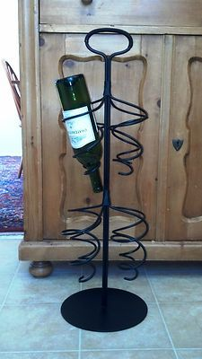 1000 images about wrought iron projects on pinterest horseshoe art wrought iron decor and - Wine racks wrought iron floor standing ...