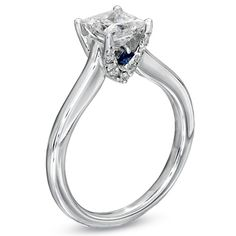 Vera Wang LOVE Collection. The sapphire would be awesome since it's my birthstone.