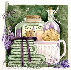 "©Diane Knott  ""Lavender Green II"""