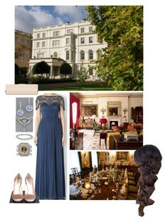 """Без названия #1151"" by duchessq ❤ liked on Polyvore featuring Catherine Deane, Tiffany & Co., Prada and L.K.Bennett"