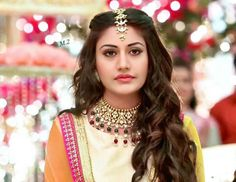 Fashion trends set from Ishqbaaz show with Anika, Gauri, Tia showing high state of fashion outfits dresses in both series. Cute Celebrities, Indian Celebrities, Celebs, Cute Girl Face, Cute Girl Photo, Girl Pictures, Girl Photos, Anika Ishqbaaz, Surbhi Chandna
