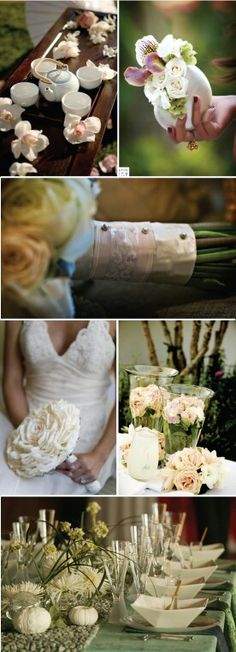 Natural simple wedding ideas