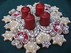 Image result for diy advent wreath salt dough