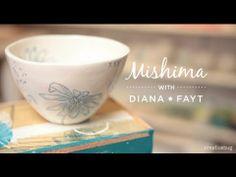 Introduction to Mishima with Diana Fayt on Creativebug