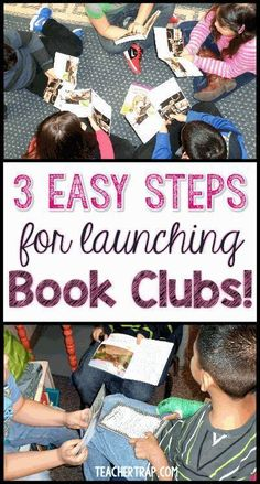 Book Clubs are an awesome way to boost your students' reading comprehension!
