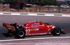 Gilles Villeneuve - Scuderia Ferrari - Ferrari 126CK