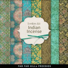 New Freebies Background Kit - Indian Incense:Far Far Hill - Free database of digital illustrations and papers Free Scrapbook Paper, Papel Scrapbook, Free Digital Scrapbooking, Scrapbook Pages, Digital Paper Freebie, Digital Papers, Papel Vintage, Vintage Clip, Decoupage