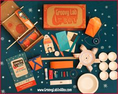 Groovy Lab in a Box STEM subscription boxes for kids. Really cool gift.