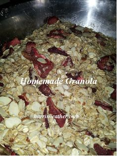 Homesteading Hippy Homemade Granola