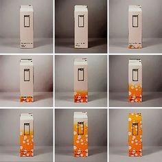 Milk Carton Changes Color When It Gets Closer To The Expiry Date