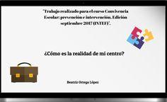 ¿Cómo es la realidad de mi centro? Beatriz Ortega López. Learning, Centre, Activities