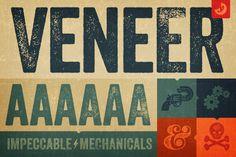Veneer (Rounded, Sans, Distressed)