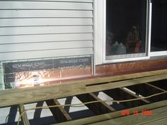 Learn how to properly install a waterproof deck ledger board using flashing and fasteners. Description from images-stock.com. I searched for this on bing.com/images