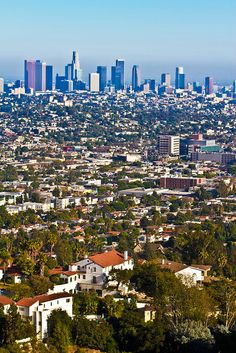 Los Angeles Skyline by CosmoPhotography, via Flickr