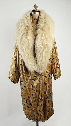 Evening coat 1926-28.