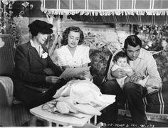 Beulah Bondi, Irene Dunne, Jane Biffle, and Cary Grant in Penny Serenade (1941).