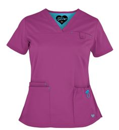Scrubs Outfit, Scrubs Uniform, Medical Scrubs, Nursing Scrubs, Nursing Clothes, Blouse, V Neck, Caregiver, Beanies