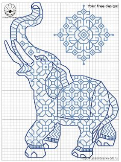 Russian Blackwork: Free Blackwork patterns