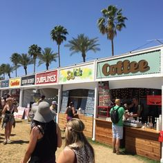 Coachella X Sustainable Wood Signs Food Signs, Bar Signs, Coachella Food, Floyd Fest, Coachella California, Food Park, Pop Up Market, Food Court, Food Festival