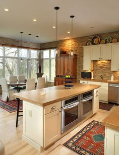 """Maple. """" If you're looking for a hard, light-colored floor, consider maple. It's a close-grain hardwood, meaning that its grain pattern is more subtle than a lot of other woods can be.  Maple is extremely hard and dent-resistant, and as a naturally light wood, it tends to show up as a light floor."""""""