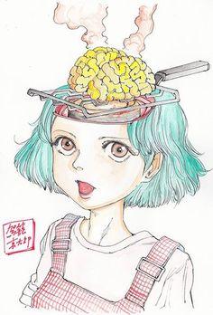 Shintaro Kago Fried Brains