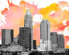 Hey, I found this really awesome Etsy listing at https://www.etsy.com/listing/190386785/digital-download-charlotte-skyline-north