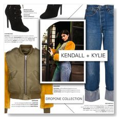 """""""KENDALL + KYLIE... (Dropone Collection)"""" by yurisnazalieth1 ❤ liked on Polyvore featuring Kendall + Kylie"""