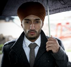 Pardeep Singh Bahra is the founder of Singh Street Style, and he became the first Turbaned Sikh man to model for British fashion designer and couturier