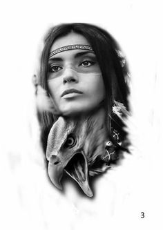 picture to draw Native American Tattoos, Native Tattoos, Native American Images, Body Art Tattoos, Tattoo Drawings, Girl Tattoos, Sleeve Tattoos, Native Indian, Native Art
