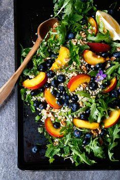 Summer Buckwheat Salad (gluten-free & vegan) - Nirvana Cakery