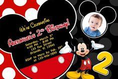 Mickey Mouse Birthday Invites Best Of Mickey Mouse Birthday Invitations Ideas – Free Printable Birthday Invitation Templates Mickey Mouse Clubhouse Invitations, Mickey Mouse Clubhouse Birthday, Mickey Birthday, Mickey Party, Elmo Party, Dinosaur Party, 4th Birthday, Birthday Ideas, Online Birthday Invitations