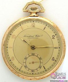 Vintage IWC Pocket Watch For Men