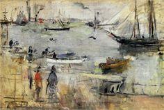 English Seascape - Berthe Morisot, 1875