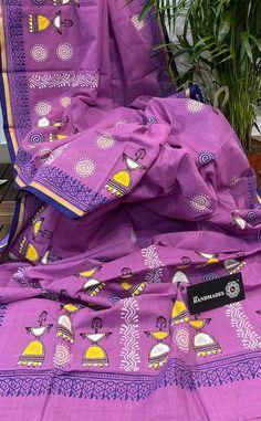 Saree Painting, Kalamkari Painting, Madhubani Painting, Fabric Painting, Handloom Saree, Silk Sarees, Kurti, Hand Painted Sarees, Saree Blouse Patterns