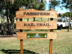 The Fassifern Rail Trail track head at the Boonah Tourist Information Centre Information Center, Tourist Information, Logan River, Country Hotel, The Visitors, Great View, Hiking Trails, Tourism, Adventure