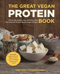 The Great Vegan Protein Book: Fill Up the Healthy Way with More than 100 Delicious Protein-Based Vegan Recipes - Includes - Beans & Lentils - Plants - Tofu & Tempeh - Nuts - Quinoa by Steen, Celine, Noyes, Tamasin Paperback Healthy Bedtime Snacks, Healthy Snacks, Healthy Drinks, Healthy Eating, Vegan Vegetarian, Vegetarian Recipes, Healthy Recipes, Snacks Recipes, Delicious Recipes