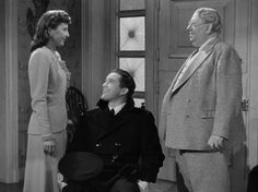 If you love hokey movies (I do), add this one to your list of holiday flicks, it's so good -- Christmas in Connecticut (1945)