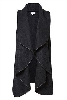 Felted Vest – Witchery Australia My new wardrobe staple – Women Fashion Cardigan Fashion, Hijab Fashion, Fashion Dresses, Iranian Women Fashion, African Fashion, Womens Fashion, Fashion Kids, Vest Outfits, Hijab Outfit