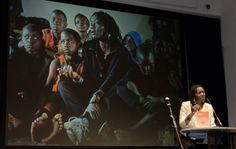 Auma Obama at the GLOBART Academy 2011