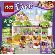 Discount Mania USA - Discount LEGO Friends Heartlake Juice Bar 41035